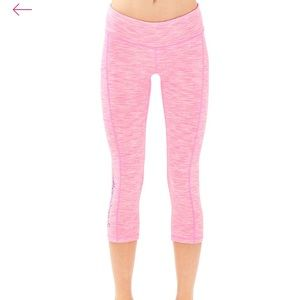Lilly Pulitzer Pink Space Dye Leggings, Sz. small